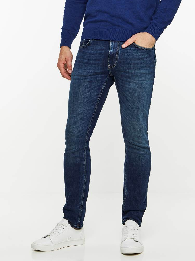 SKINNY FIT STRETCH JEANS 7239676_DAB-MADEBYMONKIES-A19-Modell-front_4351_SKINNY FIT STRETCH JEANS DAB.jpg_Front||Front
