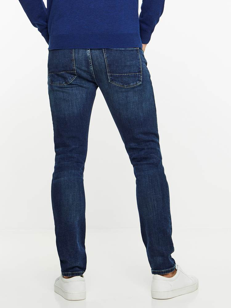 SKINNY FIT STRETCH JEANS 7239676_DAB-MADEBYMONKIES-A19-Modell-back_98001_SKINNY FIT STRETCH JEANS DAB.jpg_Back||Back