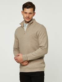 PIQUE ZIP GENSER 7242496_ABA-HENRYCHOICE-S20-Modell-front_46534.jpg_Front||Front
