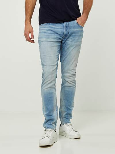 SKINNY SID LIGHT BLUE VINTAGE 3D JEANS DAD