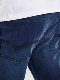 SLIM WILL BLUE OVERDYED BLUE KNIT STRETCH JEANS 7242627_HENRY CHOICE_S20_SLIM WILL BLU OD BLU KNIT STR._3_D06_BLÅ_899_-details_22231.jpg_