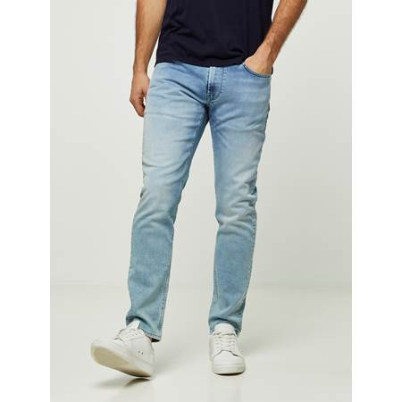 SLIM WILL BLEACH BLUE KNIT STRETCH JEANS