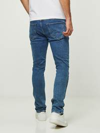 SLIM FIT STRETCH JEANS 7242654_DAC-HENRYCHOICE-S20-Modell-back_6707_SLIM FIT STRETCH JEANS DAC.jpg_Back||Back