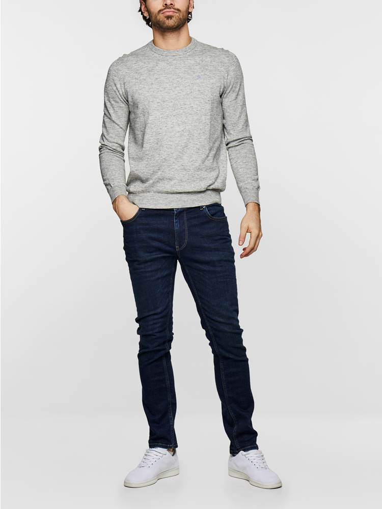 SLIM FIT STRETCH 7235366_D06_MadebyMonkeys_S19-modell-front2_SLIM FIT STRETCH JEANS  D06_SLIM FIT STRETCH D06.jpg_Front||Front