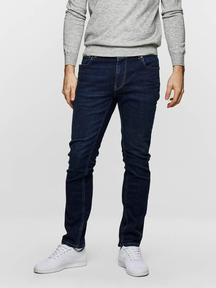 SLIM FIT STRETCH 7235366_D06_MadebyMonkeys_S19-modell-front_SLIM FIT STRETCH JEANS  D06_Slim Fit Stretch Jeans D06_SLIM FIT STRETCH D06.jpg_Front||Front