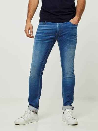 SKINNY SID SEABLUE 3D STRETCH JEANS D06