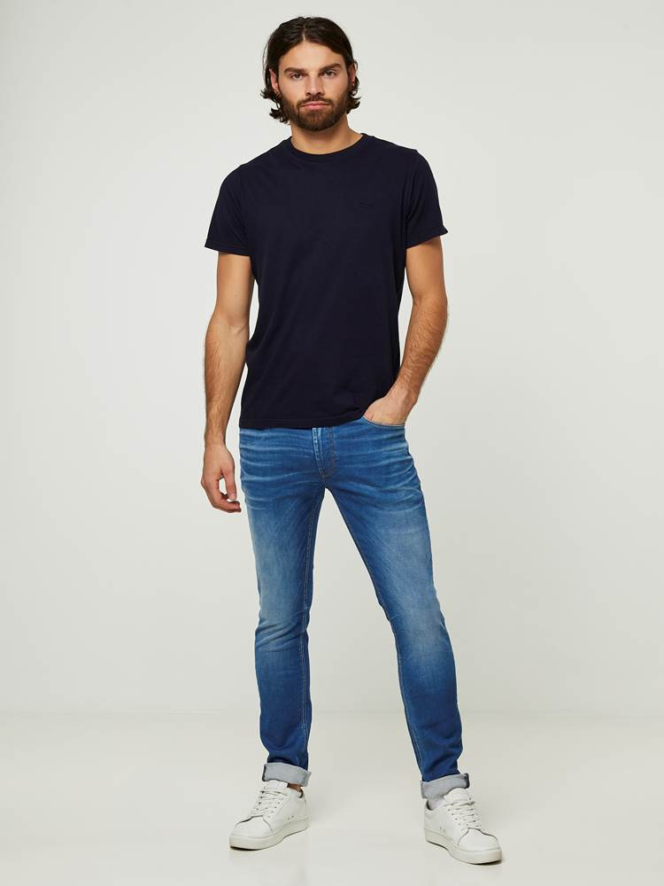 SKINNY SID SEABLUE 3D STRETCH JEANS 7242642_D06-HENRYCHOICE-S20-Modell-front_86351_SKINNY SID SEABLUE 3D STRETCH JEANS D06.jpg_Front||Front