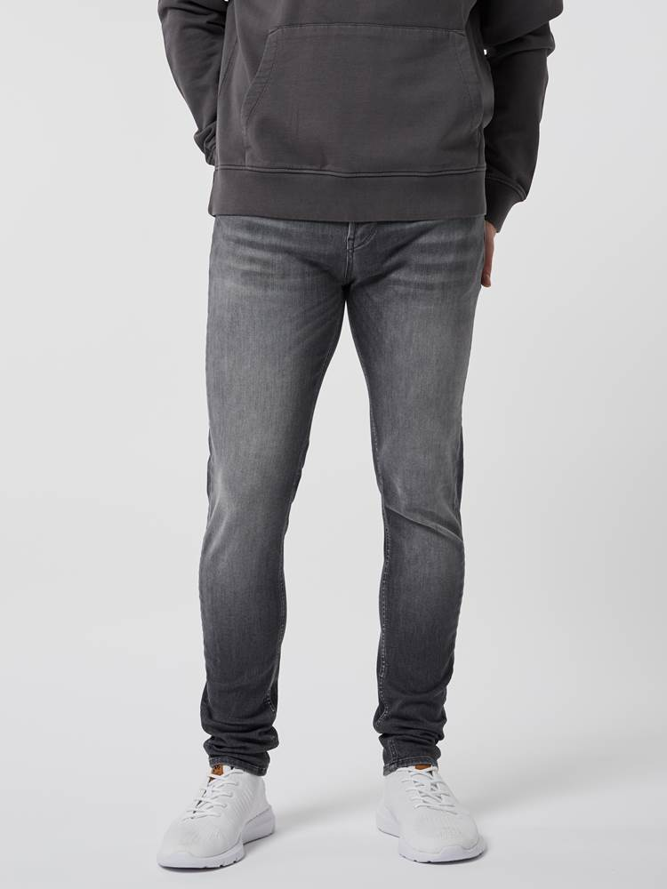 Skinny Stan Grey Super Stretch