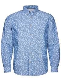 Heritage Chambray Skjorte 7232303_EGW-JP52-S18-front_HERITAGE CHAMBRAY SHIRT_Heritage Chambray Skjorte EGW.jpg_