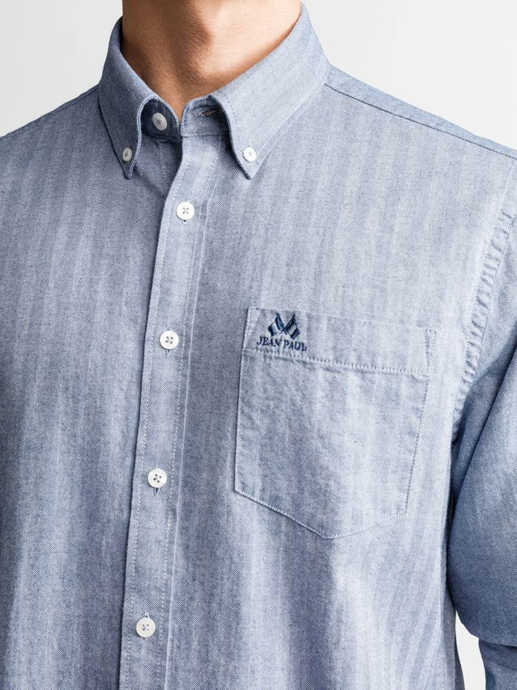 Alman Skjorte - Regular Fit 7234138_JEAN PAUL_ALMAN SHIRT_DETAIL_L_EGU_Alman Skjorte EGU_Alman Skjorte - Regular Fit EGU.jpg_