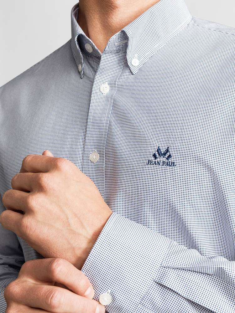 Ribery Skjorte - Regular Fit 7234150_JEAN PAUL_RIBERY SHIRT_DETAIL_L_EGG_Ribery Skjorte EGG_Ribery Skjorte - Regular Fit EGG.jpg_