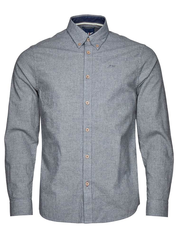 Hill Skjorte - Regular Fit 7235181_I6W-JP52-A18-front_Hill Skjorte I6W_Hill Melange II BD Shirt_Hill Skjorte - Regular Fit I6W.jpg_