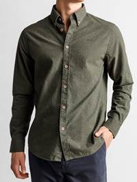 Hill Skjorte - Regular Fit 7235181_JP52_HILL MELANGE II BD SHIRT_FRONT1_M_GOY_Hill Skjorte GOY_Hill Skjorte - Regular Fit GOY.jpg_