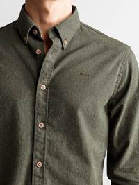 Hill Skjorte - Regular Fit 7235181_JP52_HILL MELANGE II BD SHIRT_DETAIL_M_GOY_Hill Skjorte GOY_Hill Skjorte - Regular Fit GOY.jpg_