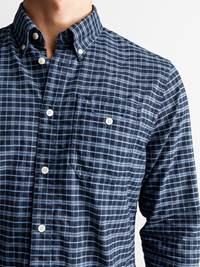 Polar Skjorte - Regular Fit 7235183_POLAR BD OXFORD CHECK_DETAIL_M_EM6_Polar Oxford Skjorte EM6_Polar Skjorte - Regular Fit EM6.jpg_