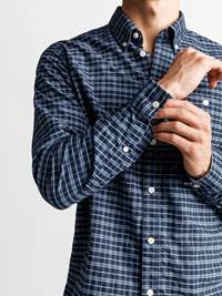 Polar Skjorte - Regular Fit 7235183_POLAR BD OXFORD CHECK_FRONT1_M_EM6_Polar Oxford Skjorte EM6_Polar Skjorte - Regular Fit EM6.jpg_
