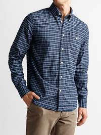 Polar Skjorte - Regular Fit 7235183_POLAR BD OXFORD CHECK_FRONT_M_EM6_Polar Oxford Skjorte EM6_Polar Skjorte - Regular Fit EM6.jpg_