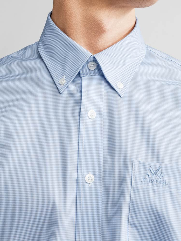 Evendy Poplin Skjorte 7221095_JEAN PAUL_EVENDY POPLIN SHIRT_DETAIL_L_E90_Evendy Poplin Skjorte E9O.jpg_