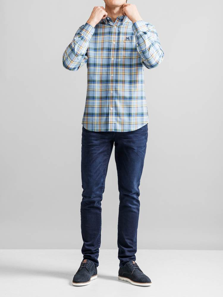 Nevil Oxford Skjorte 7231233_JEAN PAUL_NEVIL OXFORD SHIRT_FRONT_EHC_Nevil Oxford Skjorte EHC.jpg_Front||Front