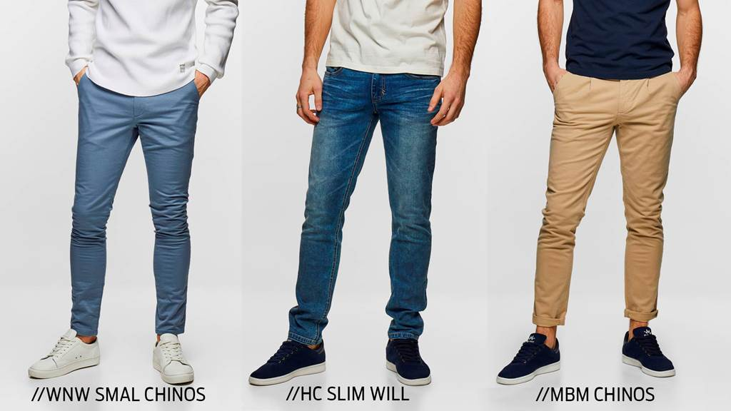 WSW chinos, Will, MBM Chinos