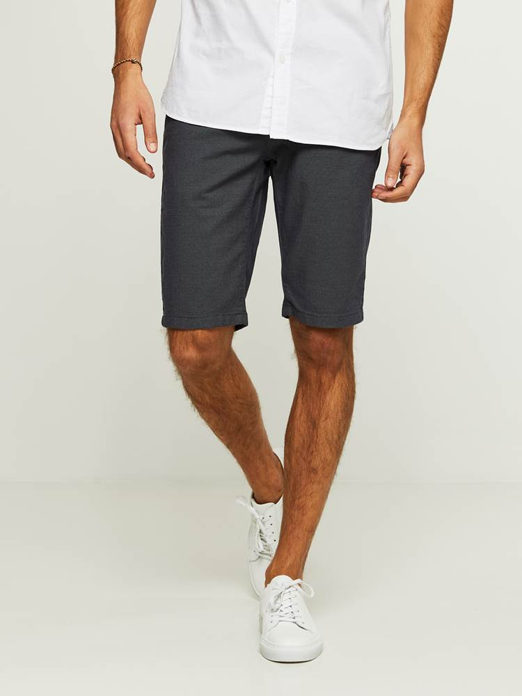 SLIM BERMUDA STRUCTURE STRETCH SHORTS 7242733_EM6-HENRYCHOICE-H20-Modell-front_67357.jpg_Front||Front