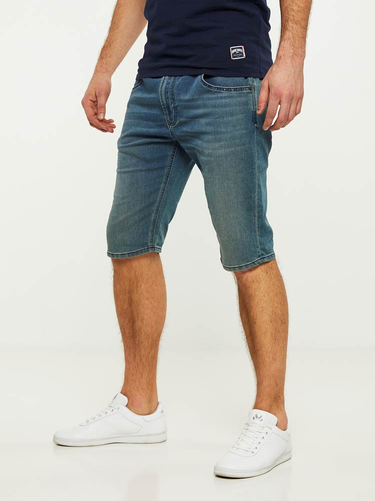 PHIL BLUE KNIT STRETCH BERMUDA SHORTS 7242729_DAB-HENRYCHOICE-H20-Modell-left_27859.jpg_Left||Left