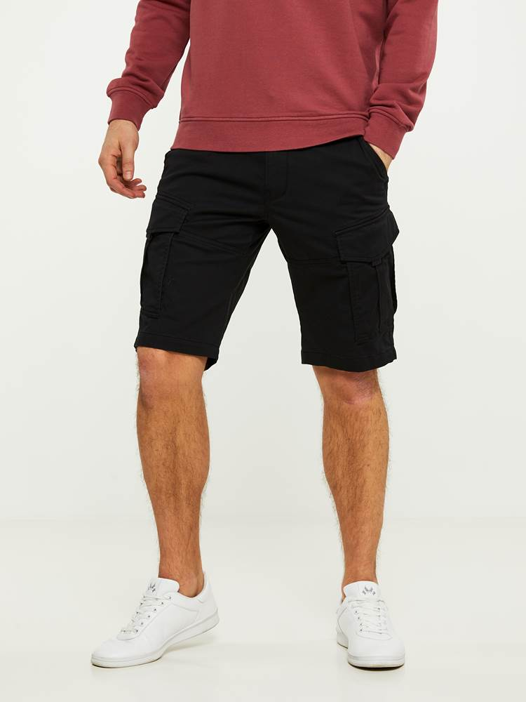 CARGO STRETCH BERMUDA SHORTS