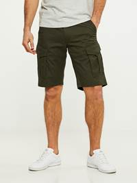 CARGO STRETCH BERMUDA SHORTS 7242618_GUC-HENRYCHOICE-S20-Modell-front_25778_CARGO STRETCH BERMUDA SHORTS GUC.jpg_Front||Front