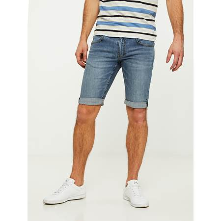 LEGEND BLUE STRETCH BERMUDA SHORTS