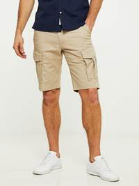 CARGO STRETCH BERMUDA SHORTS 7242618_I4Y-HENRYCHOICE-S20-Modell-front_44572_CARGO STRETCH BERMUDA SHORTS I4Y.jpg_Front||Front