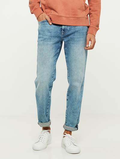 REGULAR ROD NESTA BLUE SUPER STRETCH JEANS DAD