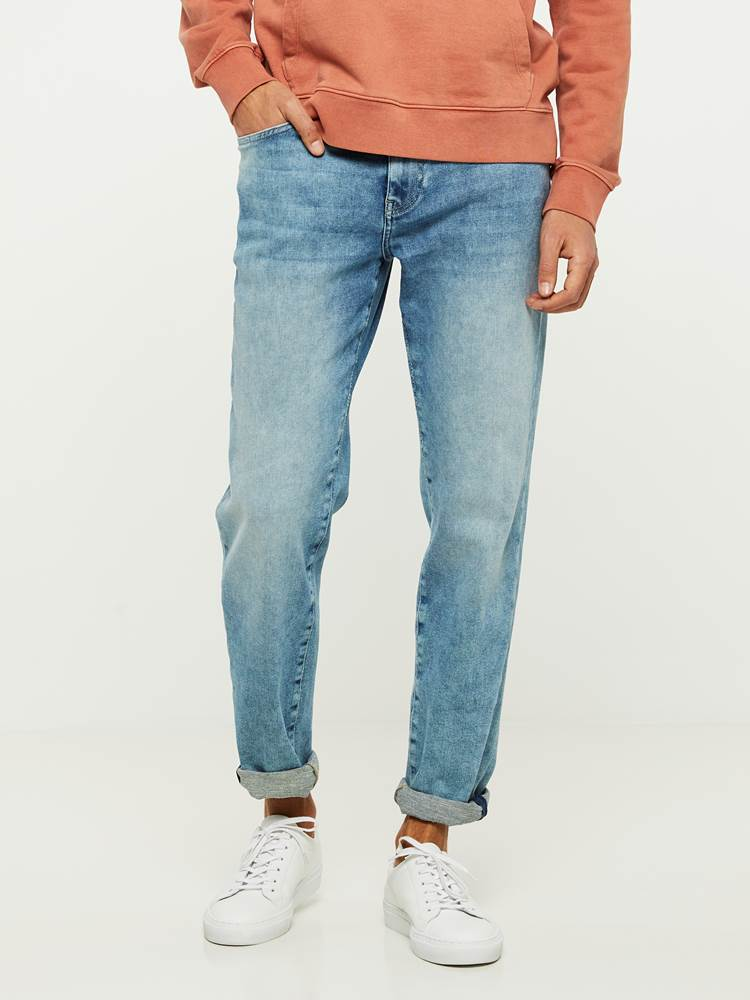 REGULAR ROD NESTA BLUE SUPER STRETCH JEANS 7242626_DAD-HENRYCHOICE-S20-Modell-front_27920_REGULAR ROD NESTA BLUE SUPER STRETCH JEANS DAD.jpg_Front||Front