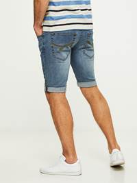 LEGEND BLUE STRETCH BERMUDA SHORTS 7242648_DAD-HENRYCHOICE-S20-Modell-back_61299_LEGEND BLUE STRETCH BERMUDA SHORTS DAD.jpg_Back||Back