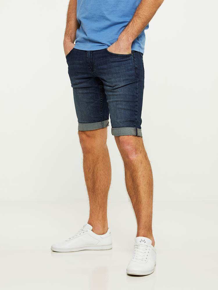 LEGEND BLUE STRETCH BERMUDA SHORTS 7242648_D04-HENRYCHOICE-S20-Modell-left_97868_LEGEND BLUE STRETCH BERMUDA SHORTS D04.jpg_Left||Left