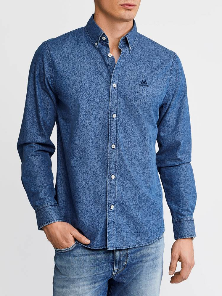 Heritage Indigo Skjorte - Regular Fit