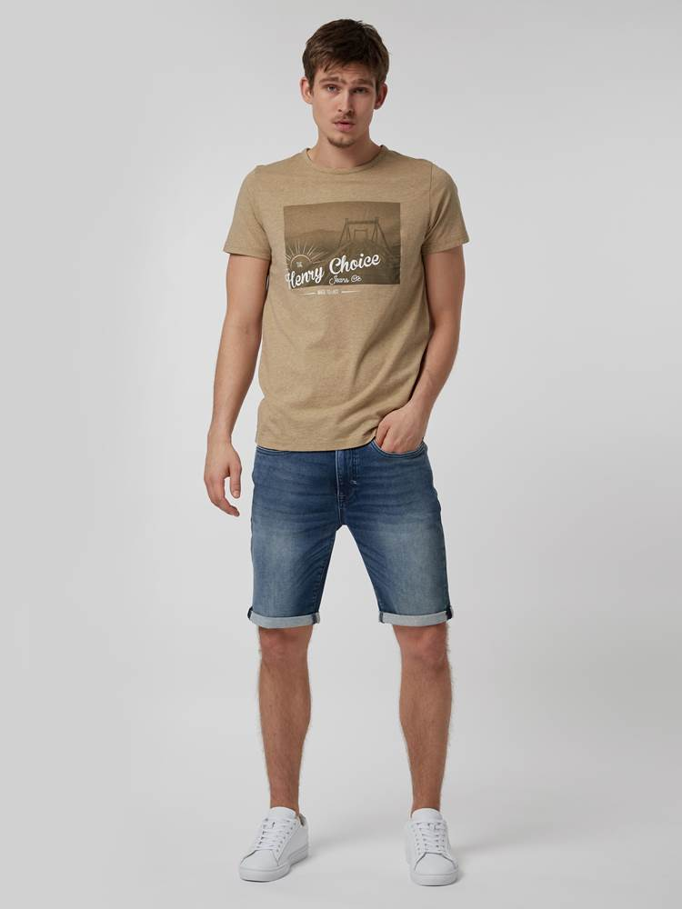 RIDE T-SKJORTE 7246699_ABY-HENRYCHOICE-H21-Modell-front_70745_RIDE T-SKJORTE ABY.jpg_Front||Front