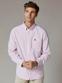 Vincent Oxford Skjorte - Regular Fit 7241804_MQE-JEANPAUL-S20-Modell-front_88288_Vincent Oxford Skjorte - Regular Fit MQE.jpg_Front||Front
