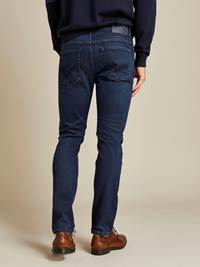 Alain Deep Blue Hyper Stretch Jeans 7238715_D06_JEAN PAUL_A19_Modell-back_Alain Deep Blue Hyper Stretch Jeans D06.jpg_