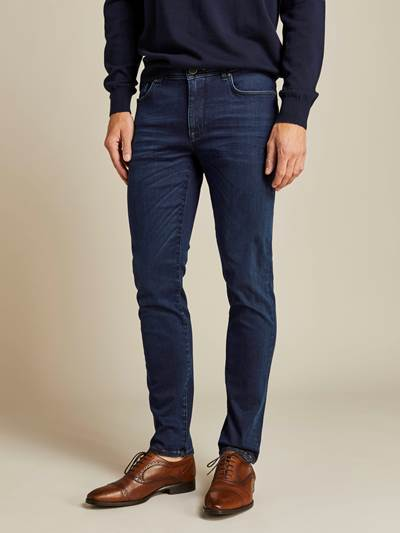 Alain Deep Blue Hyper Stretch Jeans D06