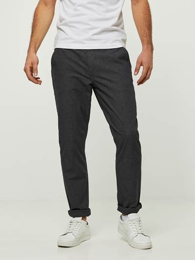 SLIM STRUCTURE STRETCH CHINO CAB