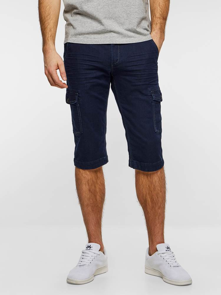 CARGO KNIT STRETCH BERMUDA