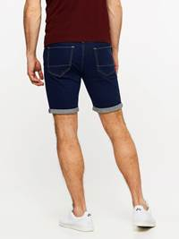SLIM FIT STRETCH SHORTS 7237717_D03-MADEBYMONKIES-H19-Modell-back_4224_SLIM FIT STRETCH SHORTS D03.jpg_Back||Back