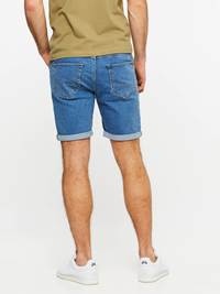 SLIM FIT STRETCH SHORTS 7237717_DAC-MADEBYMONKIES-H19-Modell-back_59412_SLIM FIT STRETCH SHORTS DAC.jpg_Back||Back