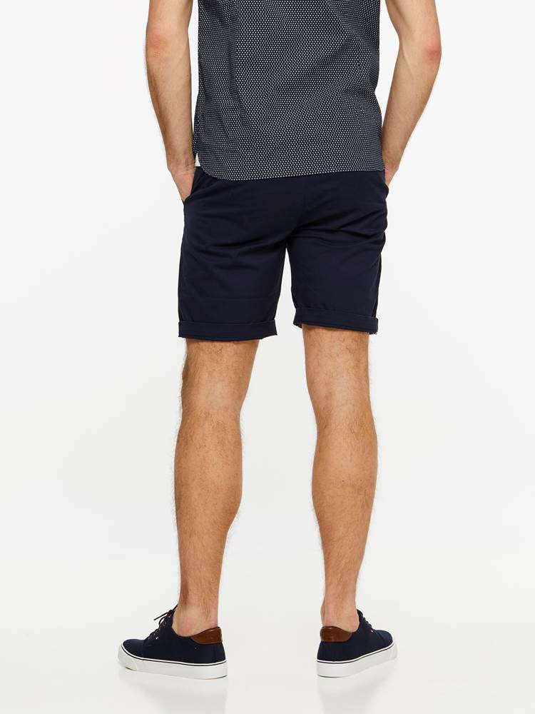 CREW CHINO SHORTS 7237709_EGR-MADEBYMONKIES-H19-Modell-back_71433_CREW CHINO SHORTS EGR.jpg_Back||Back