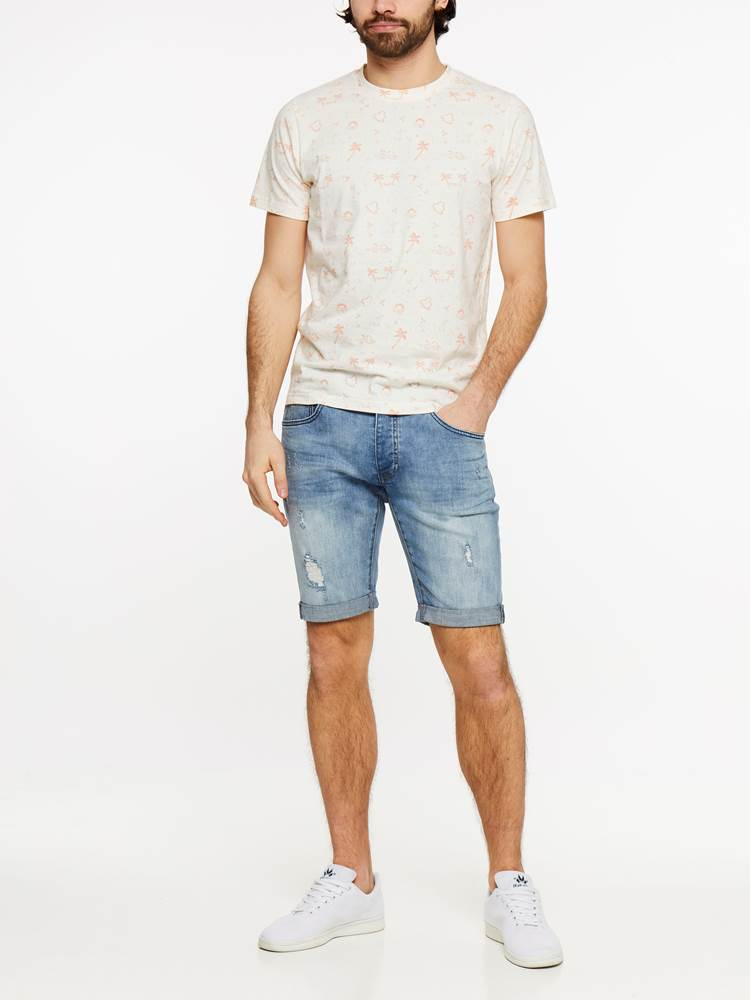 TROY BLUE BROKES STRETCH SHORTS 7237695_DAD-HENRYCHOICE-H19-Modell-front_15310_TROY BLUE BROKES STRETCH SHORTS DAD.jpg_Front||Front
