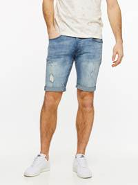 TROY BLUE BROKES STRETCH SHORTS 7237695_DAD-HENRYCHOICE-H19-Modell-front_76628_TROY BLUE BROKES STRETCH SHORTS DAD.jpg_Front||Front