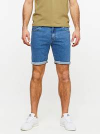 SLIM FIT STRETCH SHORTS 7237717_DAC-MADEBYMONKIES-H19-Modell-front_8937_SLIM FIT STRETCH SHORTS DAC.jpg_Front||Front