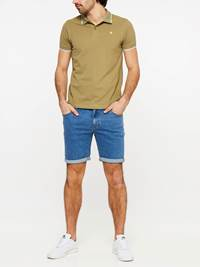 SLIM FIT STRETCH SHORTS 7237717_DAC-MADEBYMONKIES-H19-Modell-front_73404_SLIM FIT STRETCH SHORTS DAC.jpg_Front||Front