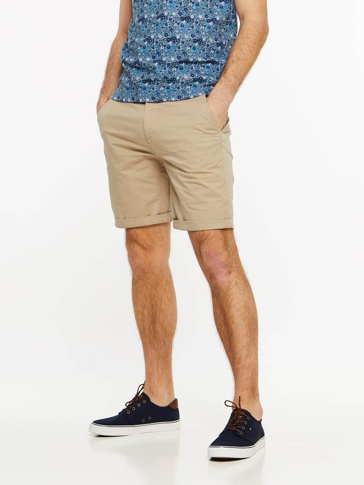 CREW CHINO SHORTS 7237709_I4Y-MADEBYMONKIES-H19-Modell-front_94044_CREW CHINO SHORTS I4Y.jpg_Front||Front