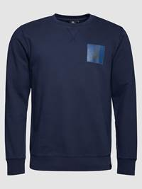 Nautical Collegegenser 7236966_EM6-JEANPAUL-S19-front_87895_Nautical Collegegenser EM6_Nautical Crewneck.jpg_Front||Front